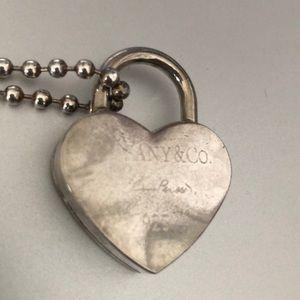 Tiffany & Co Elsa Peretti Silver vintage Necklace